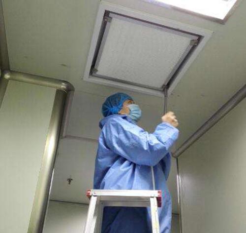 北京上地约克空调开机后风机无法调试维修方案