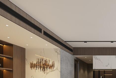 朝阳区走廊中央空调吊顶如何设计(图1)