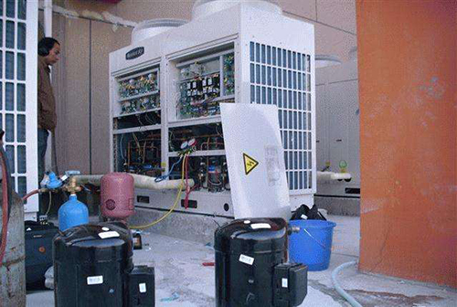 湖州欧科中央空调安装注意事项