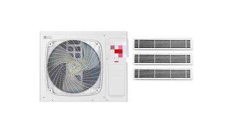 格力中央空调一拖三价格(图2)