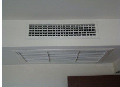 宾馆里的日立中央空调如何制冷