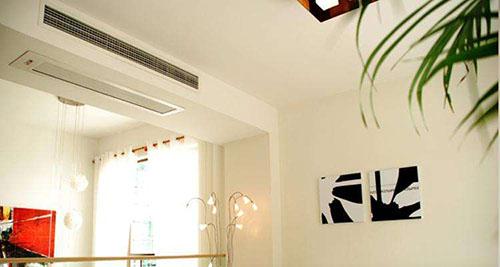 格力家庭中央空调冷热水机的工作原理
