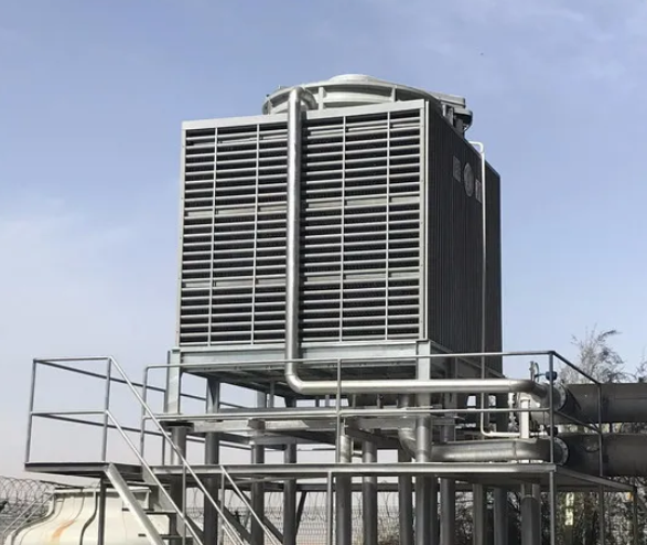 大型中央空调冷却塔节能改造意义