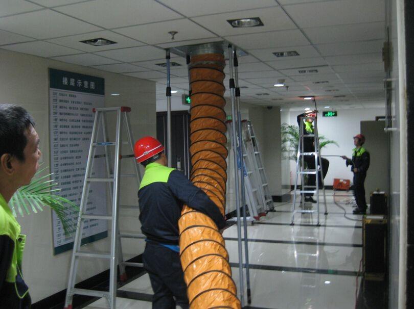 各类型中央空调风管清洗方法