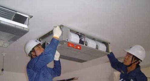 图解中央空调安装,中央空调安装示意图(图2)