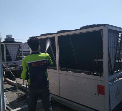 中央空调换热器的日常检查及维保方法