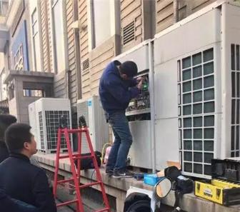三菱中央空调主机漏水维修措施