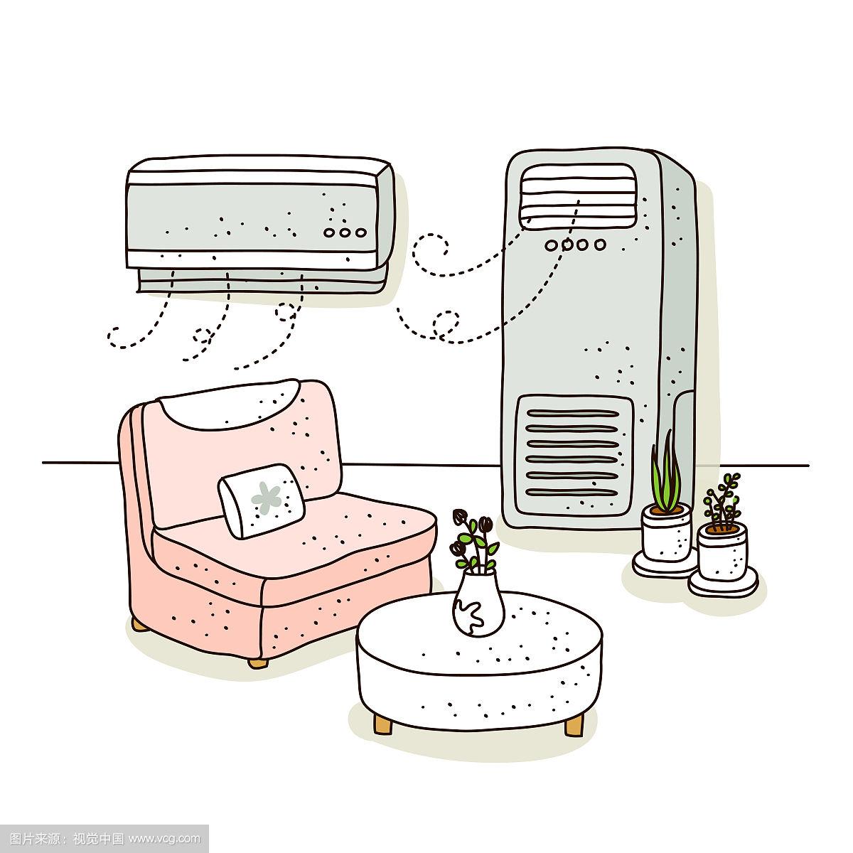 分体式空调与中央空调相比到底差在哪