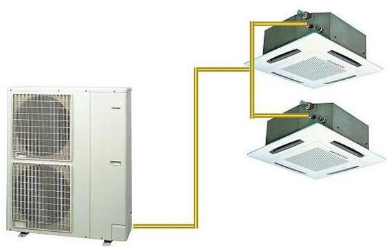 一拖二中央空调的三大产品使用优点
