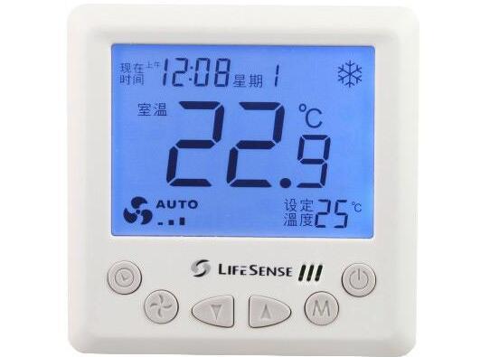 中央空调风机盘管温控器安装布线