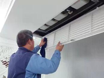 家用中央空调清洗步骤 滤网清洗很重要(图1)