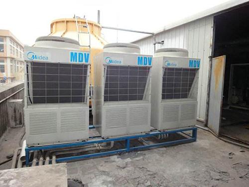 北京望京SOHO空调维修:约克中央空调安装水机步骤