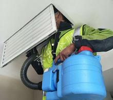 杭州中央空调通风系统清洗工艺介绍