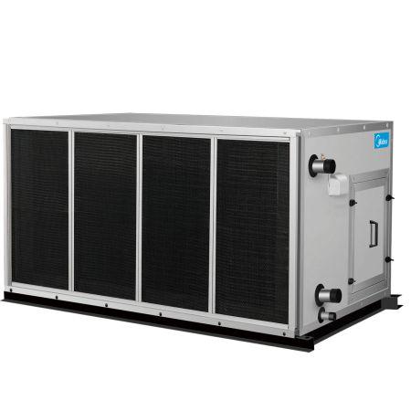 中央空调室外机换热器的清洗方法