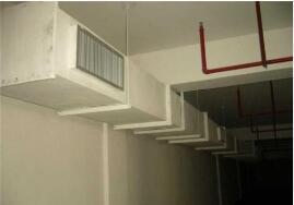 成都空调检修-中央空调风管安装
