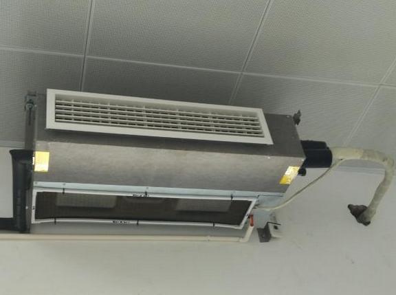 办公楼中央空调风机盘管改造安装