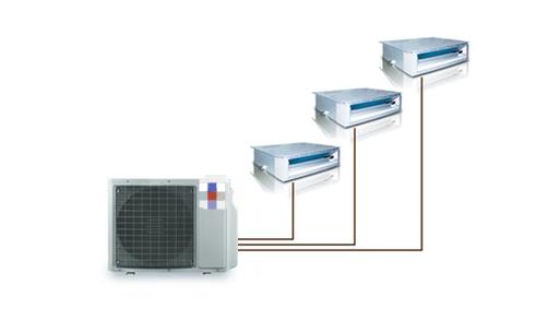 多联机中央空调清洗流程