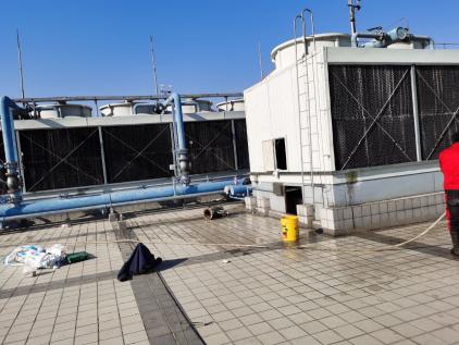 重庆海尔中央空调维修电话-中央空调冷却塔安装注意事项(图2)