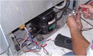 南昌弗兰卡冰箱售后维修-海尔冰箱不制冷 开口就填制冷剂